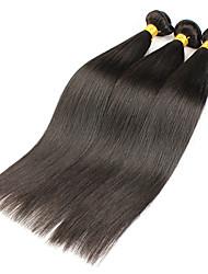 3 Piezas Recto Cabello humano teje Cabello Brasileño 300g 8-30 inch Extensiones de cabello humano