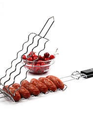 1PC Barbecue Sausage Skewer Clip Hot Dog Grill Accessories(Style random)