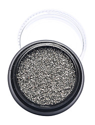 1Pcs Nail Art Decoración Las perlas de diamantes de imitación maquillaje cosmético Nail Art