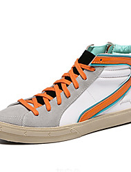 Damen-Sneaker-Lässig-WildlederKomfort-Orange