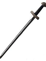 Espada Inspirado por Fantasias Fantasias Anime Acessórios de Cosplay Espada Prateado Pele PU