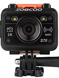 S70 SOOCOO Caméra d'action / Caméra sport 16MP 2048 x 1536 / 1280x960 Wi-Fi / Etanches / Ajustable / Sans-Fil 120fps / 30ips 4X ± 2EV 1.5