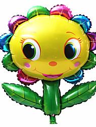 Balões Decoração Para Festas alumínio Arco-Íris Para Meninos / Para Meninas 5 a 7 Anos / 8 a 13 Anos