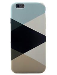 Per Fantasia/disegno Custodia Custodia posteriore Custodia Geometrica Morbido TPU per Apple iPhone 7 Plus / iPhone 7 / iPhone 6s/6