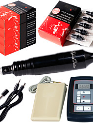 solong Tätowierung Tattoo Stift Dreh Tattoo-Maschine cheyenne Habicht Kit Digital Tattoo Netzteil Fußpedal 50pcs Nadeln