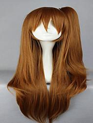 promoção Nibutani Shinka 75 centímetros de longo rabo de cavalo loiro bonito de alta qualidade fahshion sintética peruca cosplay lolita