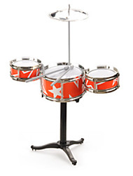 RED CHILD JAZZ DRUM BABY SHELF DRUM/ Plastic/RED /Music Toy