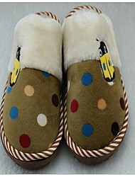 Girl's Slippers & Flip-Flops Comfort Fabric Casual Blue / Brown / Green / Red / Coffee