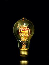 bofa a19 40w edison antique lampe boule de soie bulle (85v-265v)