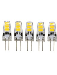 5 Pcs Con filo Others G4 6 led Sme5733 DC12 v 200 lm Warm White Cold White Double Pin Waterproof Lamp Other