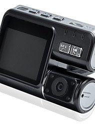 Dual Lens Car Camcorder 1080P Dash Cam With H.264 Dual Camera 2 Rear View Camera Vehicle DVR Car