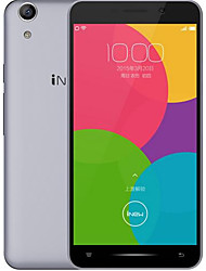 "iNew U5F 5.0 "" Android 6.0 Handy ( Dual - SIM Quad Core 8 MP 2GB + 16 GB Grau / Rosig )"