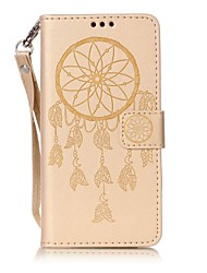 For Sony Xperia XA  Case Cover New Embossed PU Dreamcatcher Pattern Phone Embossed Leather Material Phone Case