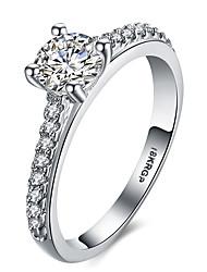 Hot Fashion Jewelry Luxury Women Engagement Ring 5A Zircon Wedding 18K Platinum Gold Ring Designs For Men Fine Men Jewelry