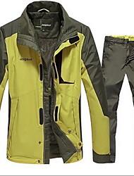 Randonnées Ensemble de Vêtements/Tenus Homme Etanche / Garder au chaud / Pare-vent / Antistatique / Confortable / Epais Automne Térylène
