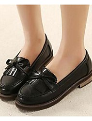 Women's Loafers & Slip-Ons Comfort PU Casual Black Brown