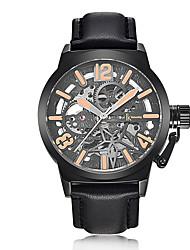 Masculino Relógio Esportivo / Relógio Militar / Relógio Esqueleto / Relógio de Pulso / relógio mecânicoAutomático - da corda
