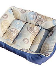 Собака Кровати Животные Подкладки Голубой Ткань