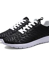 Femme-Décontracté-Noir / BleuConfort-Sneakers-Cuir