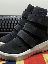 Women's Boots Winter Others Suede Casual Black / Gray