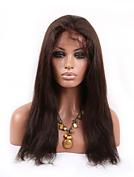 Lace Front Wigs for Black Women Straight Human Hair Long Lace Frontal Wig 16-24 Inch  With 130% Density