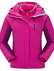 Damen Windjacken Softshell Jacken Oberteile Camping & Wandern Alpin Ski Teamsport Wasserdicht Windundurchlässig Anti-Insekten Atmungsaktiv