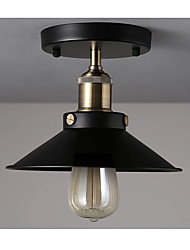 1 Piece Pendant Light Pendant Light in Black Shade Modern/Comtemporary Pendant Light