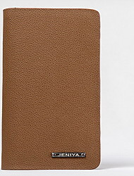 Travel Bag Passport Holder & ID Holder Passport Cover Passport Wallet Sealed for Men's Women's Travel Storage Genuine Leather-Black