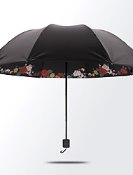 Lady Love Princess  The Umbrella Solid Bottom  Lnner Black Rubber Sun Protection Umbrella  Seventy Percent Off Umbrella Sun Umbrella