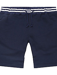 Trenduality® Men's Shorts Pants Dark Blue-65004