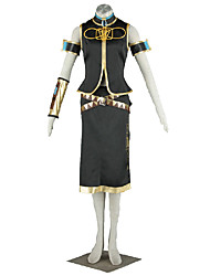 Vocaloid Hatsune Miku Anime Cosplay Costumes Coat / Dress / Armlet/ Sleeves / Stockings / Belt  / More Accessories Female