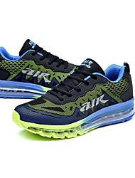 Femme-Extérieure / Décontracté-Noir-Talon Plat-Confort-Chaussures d'Athlétisme-Polyuréthane