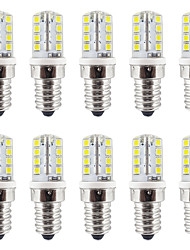 2W E14 LED à Double Broches T 32 SMD 2835 210-230 lm Blanc Chaud / Blanc Froid Etanches AC110 / AC220 V 10 pièces
