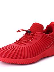 Femme-Sport-Noir / Rouge / Noir et blancConfort-Chaussures d'Athlétisme-Tulle