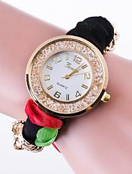 Women's Fashion Watch Quartz / Fabric Band Casual Multi-Colored Brand