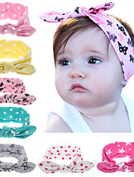 Turban Headband With Colorful Dot Design Girl Hairband