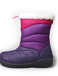 TnTn Women's Snow sports Mid-Calf Boots Winter Anti-Slip / Waterproof / Breathable Shoes Gray / Purple
