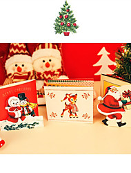 Christmas Greeting Card Festive Blessing Creative Gift