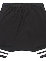 Trenduality® Hommes Shorts Pantalon Noir-55008