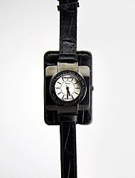 Women's Fashion Watch / Wrist watch Japanese Quartz Water Resistant/Water Proof / Imitation Diamond Genuine Leather BandVintage / Sparkle