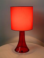 insourcing tc tecido / pano abajur abajur / lâmpada da vela sombra / cinza / vermelho