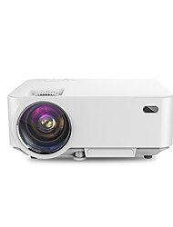T20A 1500 Lumens LED Video Projector Free HDMI LCD Mini Projector Multimedia Home Theater Projector 150 Support 1080P HDMI VGA AV USB for Home Cine