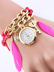 Femme Montre Tendance / Montre Bracelet / Bracelet de Montre Quartz Coloré Alliage BandeVintage / Bohème / Charme / Bracelet / Cool /