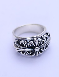 Ring Daily / Casual / Sports Jewelry Silver Men Ring 1pc,9 / 10 / 11 / 12 / 13 Silver