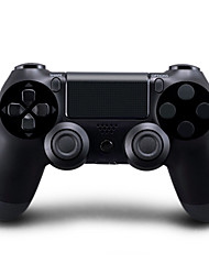 Kinghan® Dual Shock Wireless Bluetooth Game Controller for PS4 (Black)