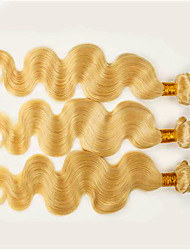Body Wave Human Hair Weaves  Brazilian #613 Remy Hair Extension