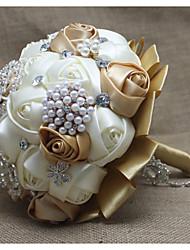 Свадебные цветы Круглый Пионы Букеты Партия / Вечерняя Атлас 23 см