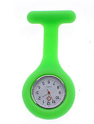 Watch Quartz Water Resistant/Water Proof / Shock Resistant Silicone Band Candy color Blue / Green / Pink Brand