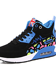 Women's Athletic Shoes Spring / Fall / Winter Comfort Leatherette Outdoor / Athletic / Casual Air Cushion Shoes
