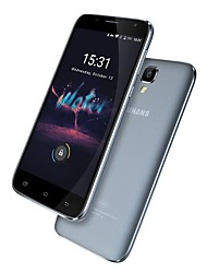 "A101S 5.0 "" Android 6.0 Cell Phone (Dual SIM Quad Core 8 MP 2GB + 16 GB Grey Gold Rosy)"